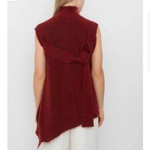 3.1 PHILLIP LIM | asymmetrical belted back knit